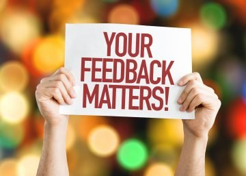 Your feedback matters with hands