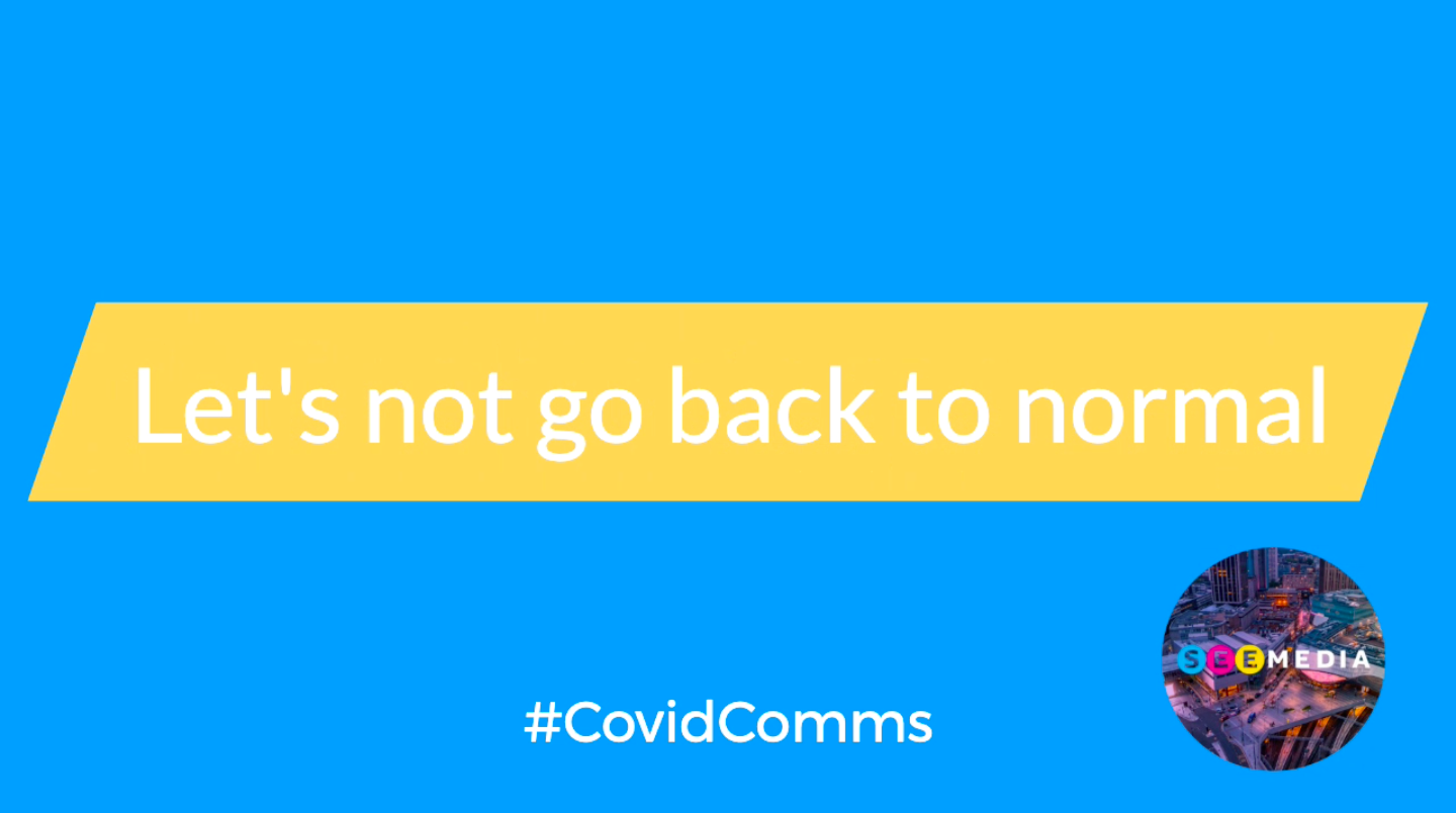 #CovidComms survey