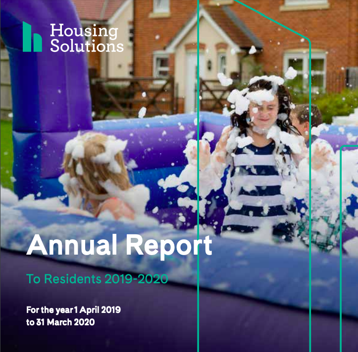 Residents annual report cover